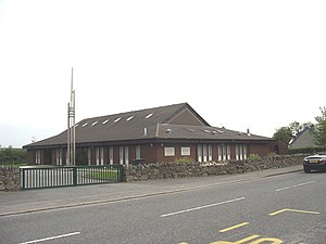 The Church of Jesus Christ of Latter-day Saints in Wales - A Welsh LDS chapel.
