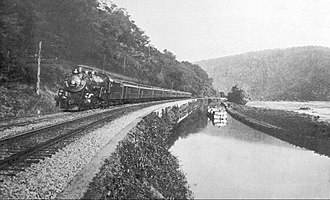 Capitol Limited (B&O train) - The Capitol Limited in its early years