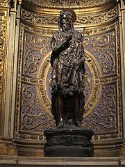 Sant Joan Baptista de bronze