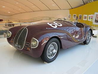 Auto Avio Costruzioni 815 - Image: Car Musée Enzo Ferrari 0063
