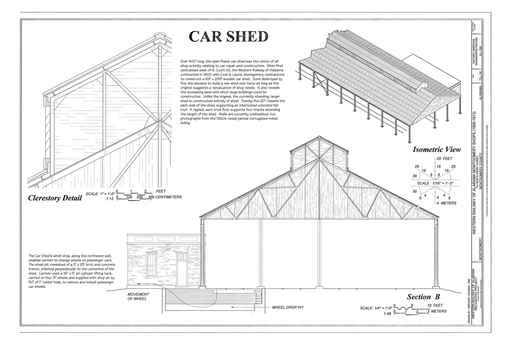 File Car Shed Clerestory Detail Section And Isometric