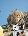 Cara del Moro, Castell de santa Bàrbara, Alacant.JPG