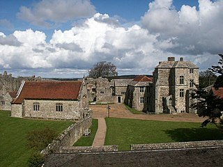 Carisbrooke Castle Grade I listed historic house museum in Isle of Wight, United Kingdom