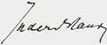 Carl von In der Maur signature.png