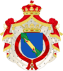 Carlos Zurita, Duke of Soria's Coat of arms.png