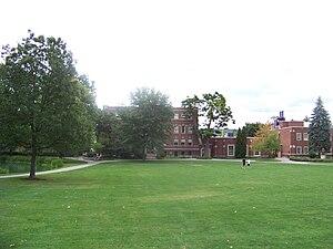 Elmira College Old Campus - Image: Carnegie Hall Elmira