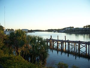 Carrabelle River - Carrabelle River in Carrabelle, Florida