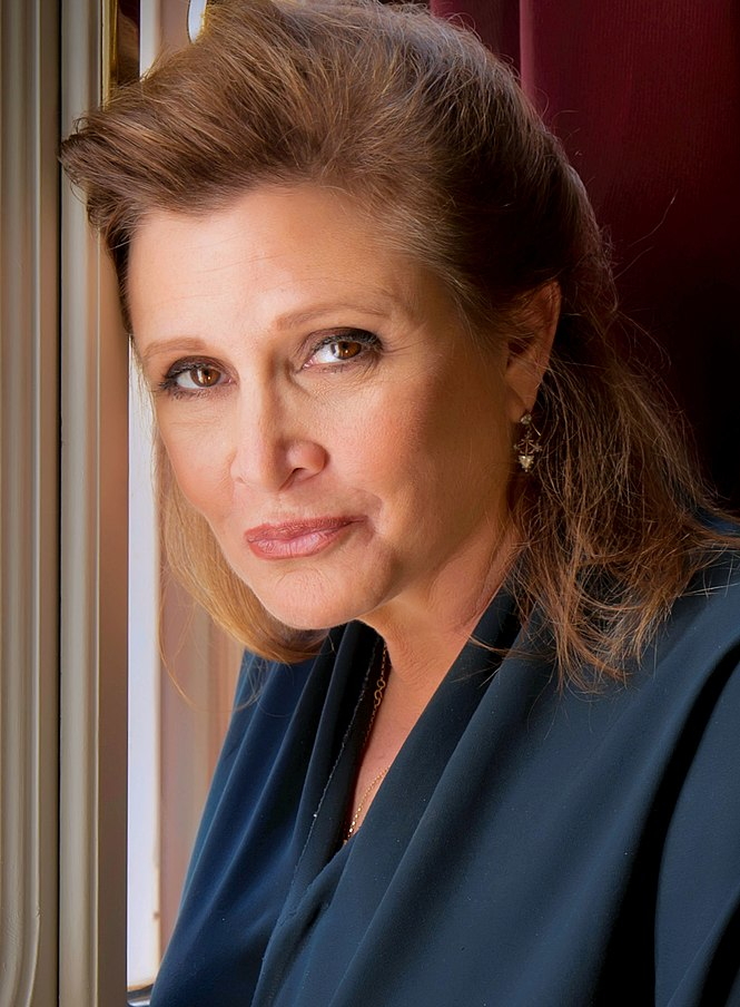 Carrie Fisher dead photo