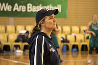 Carrie Graf at day two of the Opals camp.jpg