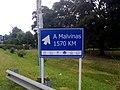 """Cartel """"A Malvinas"""" en el KM 399 de la autovía 2 - panoramio.jpg"""