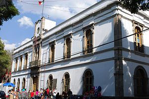 Azcapotzalco - The Casa de Cultura in the historic center of Azcapotzalco