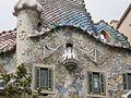 Casa Batlló (Casa dels ossos) in Barcelona by Antoni Gaudí.JPG