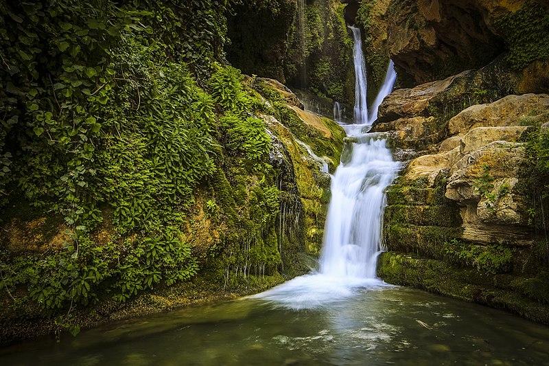 Archivo:Cascade de Aïn Legradj à Bordj Bou Arreredj.jpg