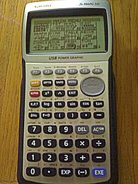 how to delete memory on casio fx-9860g
