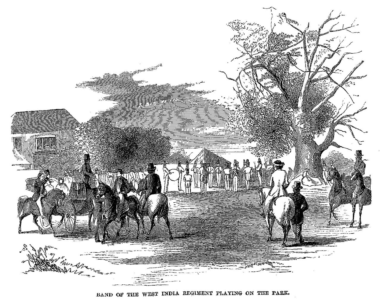 File:Cast-away in Jamaica - Band of the West India Regiment