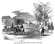 Cast-away in Jamaica - Band of the West India Regiment Playing on the Park
