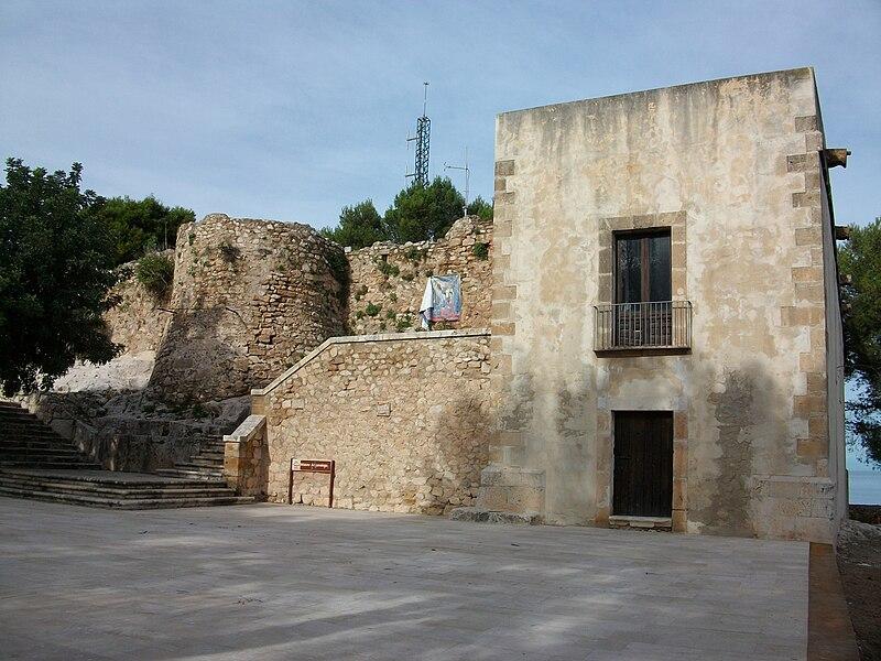 Castell de Dénia Palau del Governador.JPG