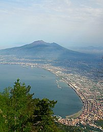 Castellammare di Stabia, the Gulf of Napels an...