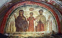 Catacombe Di San Gennaro Fresco