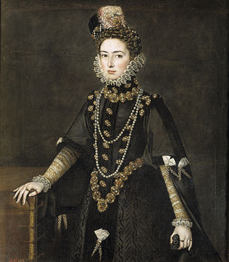 Infanta Catherine Michelle of Spain - Image: Catalina Micaela of Spain by Alonso Sánchez Coello