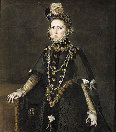 Catalina Micaela of Spain by Alonso Sánchez Coello.jpg