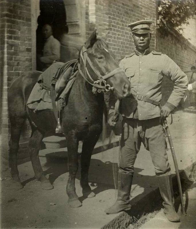 Cavalry of the Chinese new army
