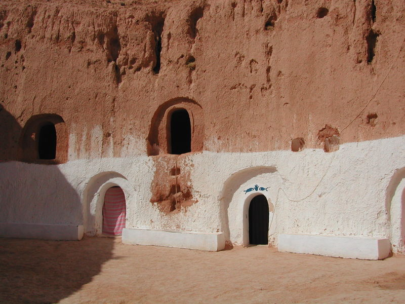 مدينة عربية تحت الارض