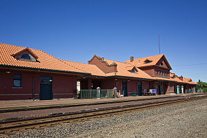 Centralia station (Washington) - Centralia Union Depot in 2011