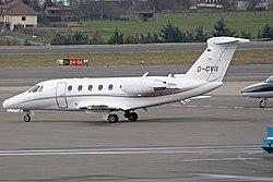 Cessna 650 Citation der EFS Flug-Service