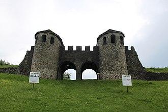 Sălaj County - Porta Praetoria at Porolissum