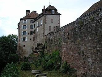 Château de La Petite-Pierre - Image: Château La Petite Pierre