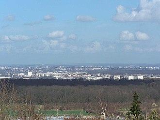 Achères, Yvelines - A general view of Achères