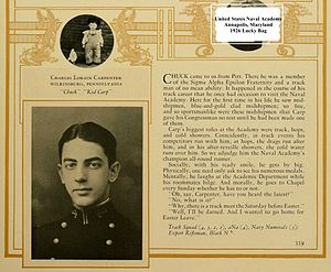 Charles L. Carpenter - Midshipman Charles L. Carpenter biography entry in the United States Naval Academy 1926 Lucky Bag