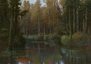Evening Mahinapua Creek, Hokitika