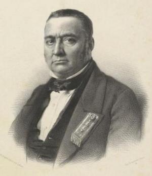 Charles Gilbert Tourret - Portrait by Jean-Baptiste-Adolphe Lafosse