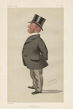 Charles Williams-Wynn (1822–1896) - Vanity Fair caricature of Williams-Wynn by Spy