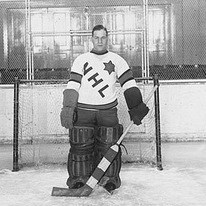 Ace Bailey Benefit Game - Charlie Gardiner was the goaltender for the NHL All-Stars