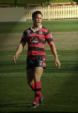 Charlie Herekotukutuku - Herekotukutuku playing for North Sydney