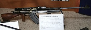 Lee–Metford - Charlton Automatic Rifle.