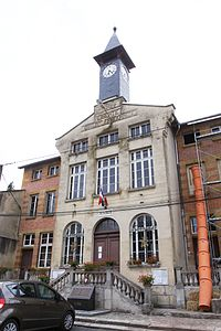 Chatel-Chéhéry (08 Ardennes) - la Mairie - Photo Francis Neuvens lesardennesvuesdusol.fotoloft.fr.JPG