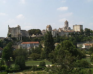 Chauvigny - A general view of Chauvigny