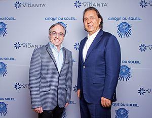 Daniel Chavez Moran - Daniel Chavez Moran with Daniel Lammare from Cirque du Soleil