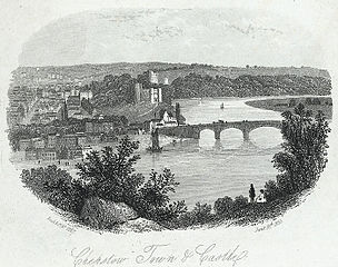 Chepstow town & castle