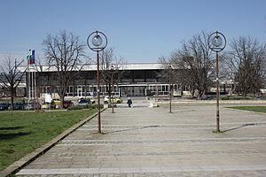Cherven Bryag - Image: Cherven Bryag Train Station