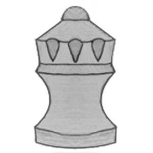 Mann (chess) - Image: Chess piece Sage