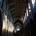 Chester Cathedral - interior, view of nave.jpg