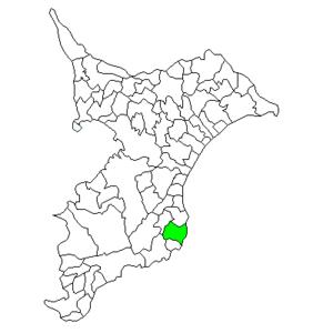 Ōhara, Chiba - Image: Chiba Ohara town