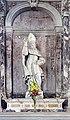 Chiesa di Sant'Andrea Apostolo ou della Zirada Venezia - lato destro, primo altare statua marmorea San Nicolò (secolo XVIII).jpg