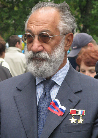 Artur Chilingarov - Artur Nikolayevich Chilingarov visiting Arkangelsk (2009, August 22)