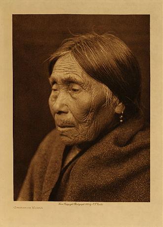 Chimakum - Image: Chimakum woman